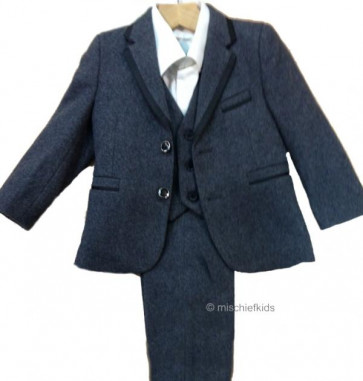 Couche Tot JOSEPH Boys Waistcoat Shirt Jacket and Trouser Suit