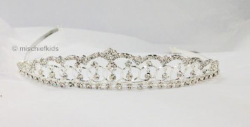 Little People 4056 Girls Diamante Tiara Crown