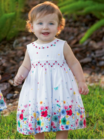 Sarah Louise 010330 Summer Garden Smock Dress