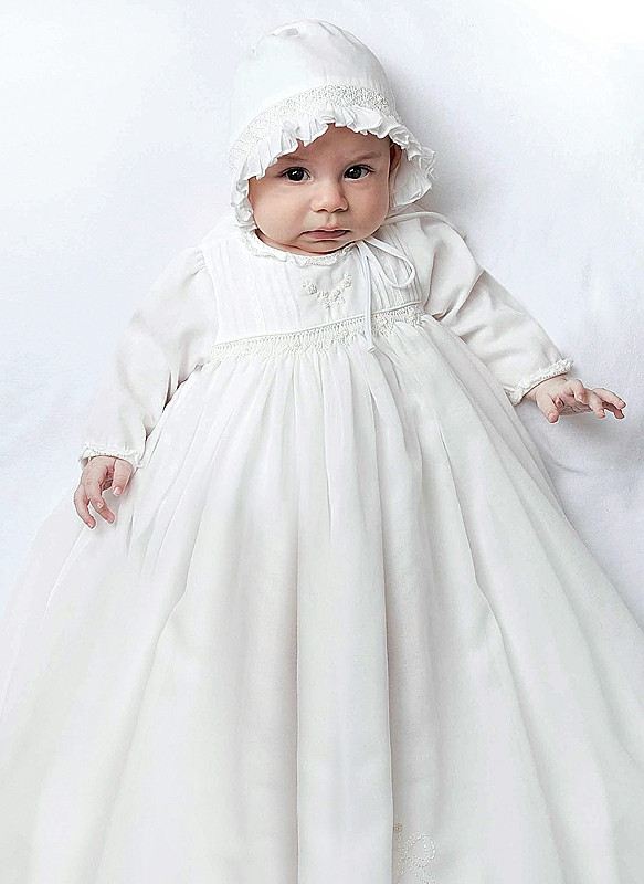 Baby & Toddler Clothing Sarah-louise Christening Gown 9-12 Months With Bonnet