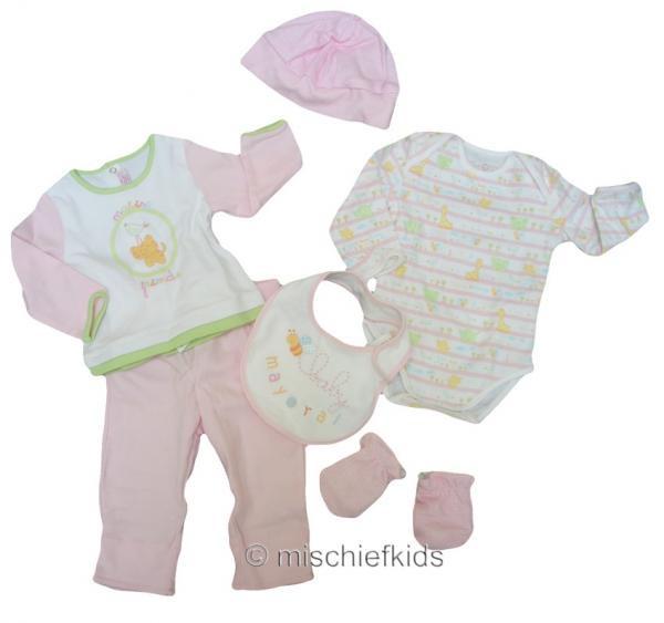 Posh Baby Gifts Uk : Mayoral p baby pink piece gift set petit posh