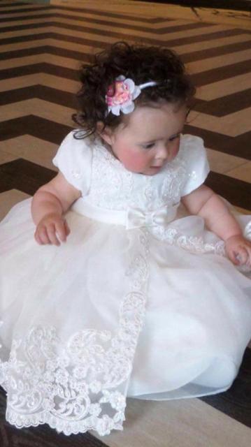 1f5f04479fec Sarah Louise 070012 Jewelled Lace Dress | Petit Posh