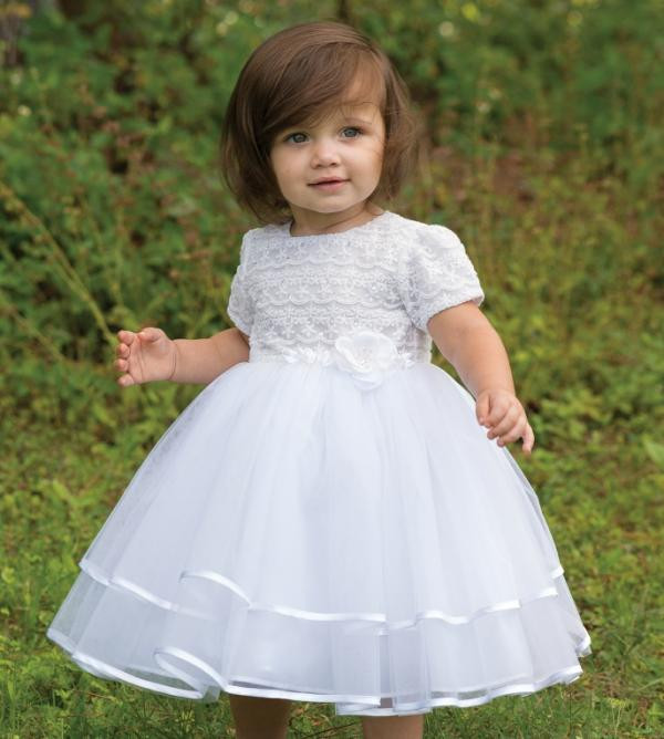 Sarah Louise 070015 Christening Dress