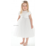 83d98a2980ea Sarah Louise 070 10196 BOUFFANT Full and Puffy Tulle Christening Dress