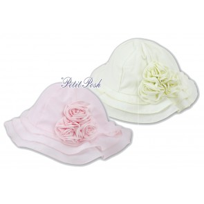 Sarah Louise 003628 Layered Cloche Hat