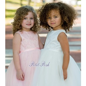 Sarah Louise 070035 Christening Bridesmaid Rose Queen special occasion dress