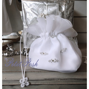 Little People 5391 Organza & Diamante Dolly Bag