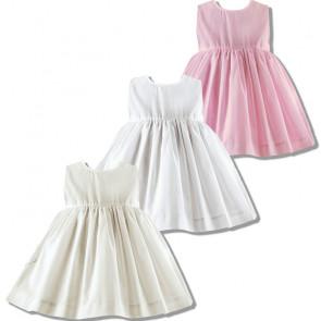 Sarah Louise 003761 Triple Layer Slip Dress IVORY, WHITE or PINK