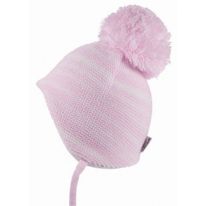 Satila BRIANA Baby Hat PINK & WHITE STRIPE