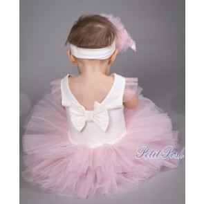 Caramelo 031 Baby Tutu Dress and headband set
