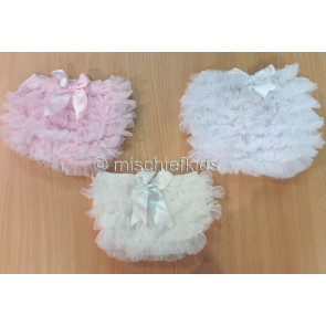 Couche Tot CT01 Tutu Frilly Panties IVORY PINK or WHITE