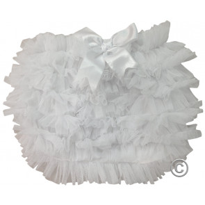 Couche Tot CT01 Tutu Frilly Panties WHITE