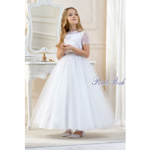 Lacey Bell CD13 LISA Tulle & Lace Communion Dress