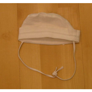 La Petite Ourse 15710   Sample Linen and Cotton Hat WHITE