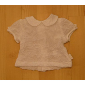 La Petite Ourse 15720 Sample  White Crinkle Top