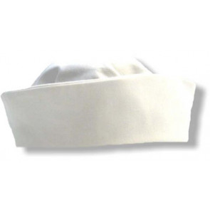 Little Darlings H4165 White Pillbox Christening Hat