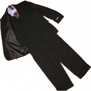 Klassickids K4399 Boys Black Jacket Waistcoat and Trouser Suit