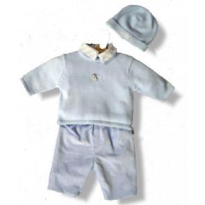 La Petite Ourse 06371 Pale Blue Hat CELEBRATION