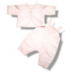 La Petite Ourse 17012 Sample  Pink Dungaree Jacket