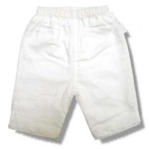 La Petite Ourse 16997 Sample  White Linen Trousers