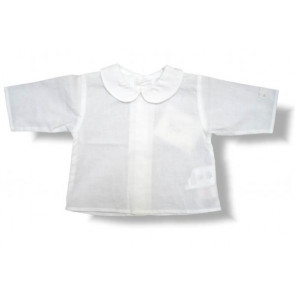 La Petite Ourse 17001 Sample  White Fine Cotton Top
