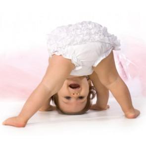 Sarah Louise 003760 Frilly Knickers WHITE Panties