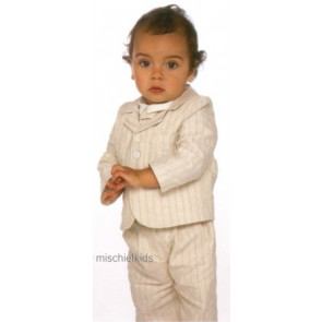 Little Darlings SPENCER BEIGE J6144 Boys Special Occasion Blazer BEIGE