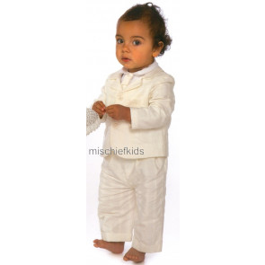 Little Darlings SPENCER IVORY J6144 Boys Special Occasion Blazer
