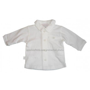 Confetti 22074 White Jersey Cotton Shirt