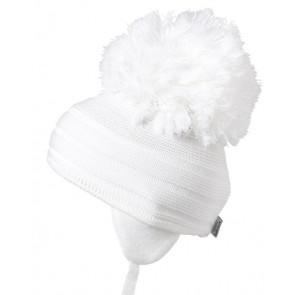 Satila PURL Huge Pom Hat WHITE