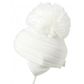 Satila PURL Huge Pom Hat IVORY CREAM