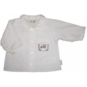 La Petite Ourse 22982 Sample  White Long Sleeve Shirt