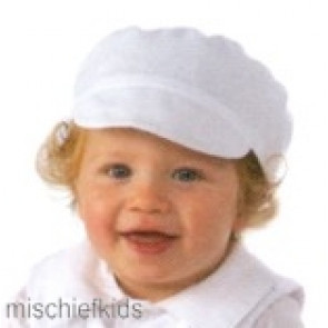 Little Darlings H123w White Cap to match Tristan and Oliver