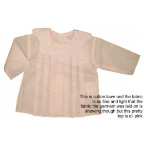 La Petite Ourse 23613 Sample  Pink Cotton Blouse