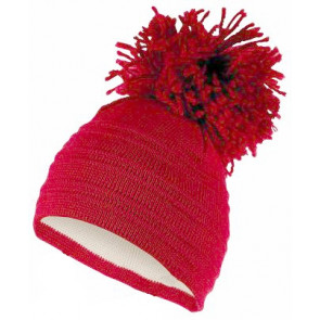 Satila of Sweden EDSBYN Huge Pom Hat RED