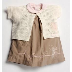 La Petite Ourse 25636 Sample  Pink Cotton Top ARTISTE