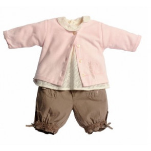 La Petite Ourse 25633  Sample  Pink Cardigan ARTISTE