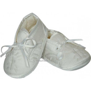 Sarah Louise 403 Holy Cross Pram Shoe IVORY