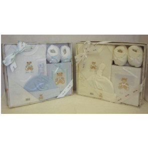 NEWBORN 25951c Cream 4 Piece Photo Album Box Set