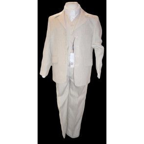 Sebastian Le Blanc Sebastian Le Blanc R125 and R139 Beige Jacket Waistcoat and Trouser Suit