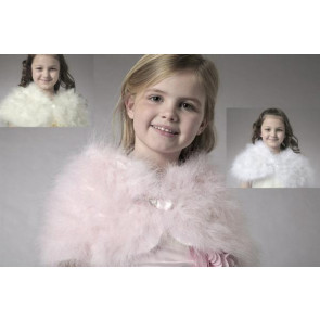 Couche Tot 144 Maribou Swansdown Cape Ivory, Pink or White TINY FIT
