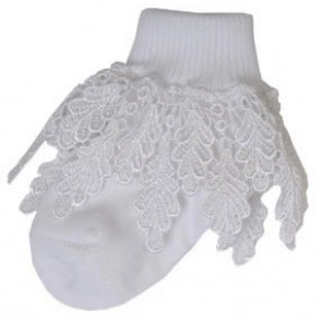 Pex CASOPX Princess Lace Socks WHITE