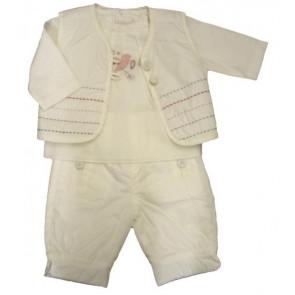 La Petite Ourse 26246  Newborn Sample Waistcoat Gillet