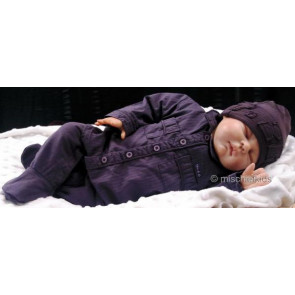 Taille O 26612 Sample Blackcurrent Shirt Onesie