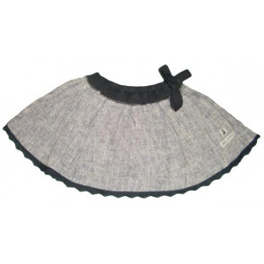 Eliane et Lena 26729 Sample Grey Mix Skirt CLAUDINE