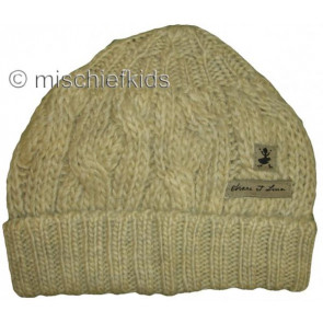 Eliane et Lena 26736K Sample Beige Knit Hat CLAUDINE