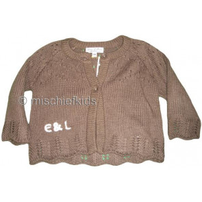 Eliane et Lena 26760 Sample Brown Knit Cardigan GOLDEN