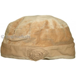 Eliane et Lena 26775 Sample Tan Velour Hat GOLDEN