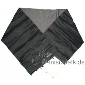 Eliane et Lena 26980 Sample Black Scarf CHIC