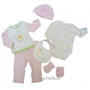 Mayoral 27245p Baby Pink 6 Piece Gift Set